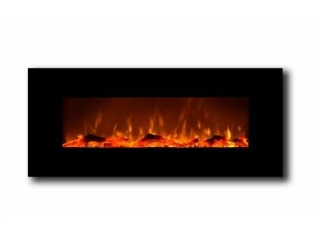 Touchstone 80001 Onyx wall mounted electric fireplace